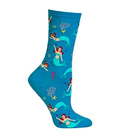 Hot Sox® Mermaid Crew Socks