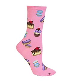 Hot Sox® French Pastries Crew Socks