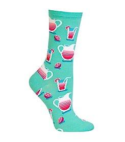 Hot Sox® Lemonade Crew Socks
