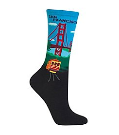 Hot Sox® Golden Gate Bridge Crew Socks