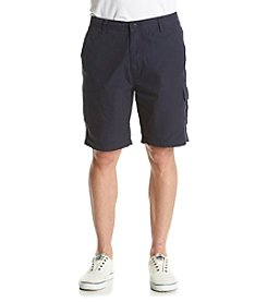 Nautica® Men's Sail Cloth Poplin Cargo Shorts