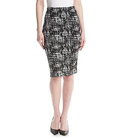 AGB® Knit Pencil Skirt