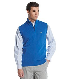 Jack Nicklaus Men's The Annandale Sleeveless Quarter Zip Sweater Vest