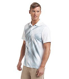 PGA TOUR® Men's Short Sleeve Diffused Argyle Polo