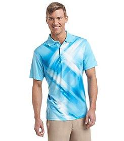 PGA TOUR® Men's Short Sleeve Diffused Argyle Polo