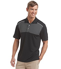 PGA TOUR® Men's Three Color Airflux Polo