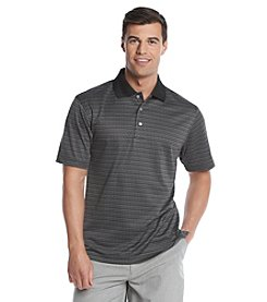 PGA TOUR® Men's Short Sleeve Mini Geometric Polo