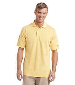 Jack Nicklaus Men's The Bay Point Twill Short Sleeve Polo