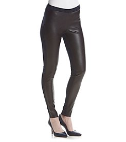 MICHAEL Michael Kors® Faux Leather Front Ponte Pants