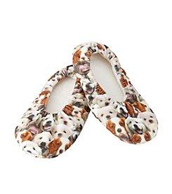 Fuzzy Babba Dog Slippers