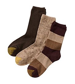 GOLD TOE® Multi Three Pack Socks