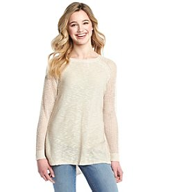 Taylor & Sage™ Pointelle Sweater