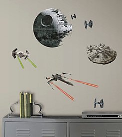 RoomMates Wall Decals Star Wars™ Classic Spaceships Wall Decals
