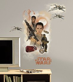 RoomMates Wall Decals Star Wars™ The Force Awakens Ep VII Hero Burst Giant Wall Decal