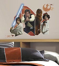 RoomMates Wall Decals Star Wars™ Classic Burst Giant Wall Decal