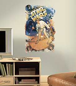 RoomMates Wall Decals Star Wars™ Classic Retro Wall Graphic