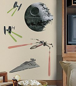 RoomMates Wall Decals Star Wars™ Classic Space Ships Giant Wall Decals