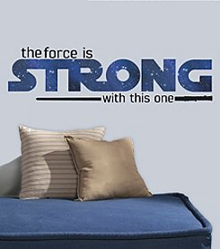 RoomMates Wall Decals Star Wars™ Classic The Force Is Strong Wall Decals
