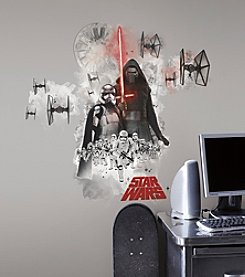RoomMates Wall Decals Star Wars™ The Force Awakens Ep VII Villians Burst Giant Wall Decal