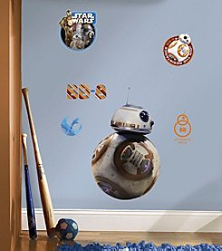 RoomMates Wall Decals Star Wars™ The Force Awakens Ep VII BB-8 Giant Wall Decal