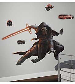 RoomMates Wall Decals Star Wars™ The Force Awakens Ep VII Kylo Ren Giant Wall Decal With Glow in the Dark