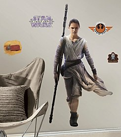 RoomMates Wall Decals Star Wars™ The Force Awakens Ep VII Rey Giant Wall Decal
