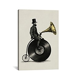 iCanvas Music Man by Eric Fan Canvas Print