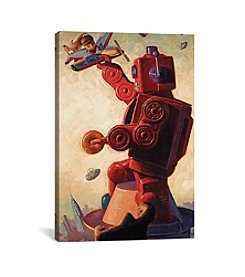 iCanvas Robo Kong by Eric Joyner Canvas Print