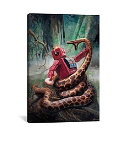 iCanvas Snakefight by Eric Joyner Canvas Print