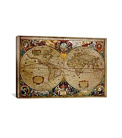 iCanvas Victorian Geographica by iCanvas Canvas Print