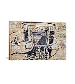 iCanvas Sippin by Kyle Mosher Canvas Print