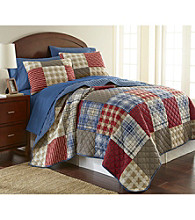Shavel Home Products Micro Flannel® Berry Patch Plaid 3-pc. Quilt Set