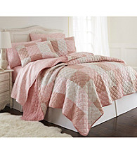 Shavel Home Products Micro Flannel® Enchantment Patchwork 3-pc. Quilt Set
