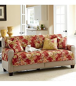Sure Fit® Waverly Ballad Bouquet Pet Furniture Slipcover