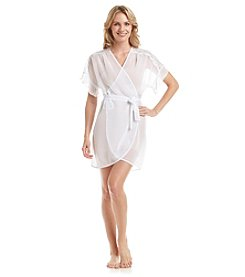 Linea Donatella® Sheer Wrap Robe