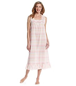 Miss Elaine® Long Sleeveless Nightgown