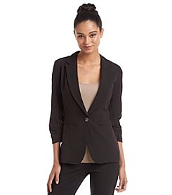 XOXO® Ruched Blazer