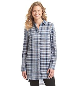Hippie Laundry Plaid Tunic