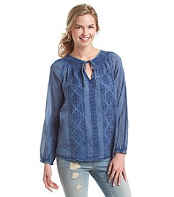 Hippie Laundry Peasant Top