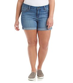 Celebrity Pink Plus Size Cuffed Shorts