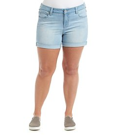 Celebrity Pink® Plus Size Cuffed Shorts