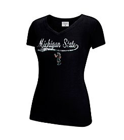 J. America® NCAA® Michigan State Spartans Women's Tracy Short Sleeve Tee