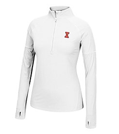 J. America® NCAA® Illinois Fighting Illini Women's Sprint Long Sleeve Half Zip Pullover