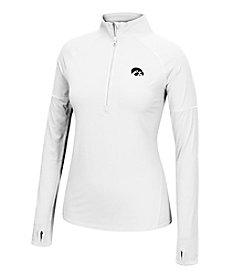 J. America® NCAA® Iowa Hawkeyes Women's Sprint Long Sleeve Half Zip Pullover
