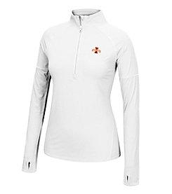 J. America® NCAA® Iowa State Cyclones Women's Sprint Long Sleeve Half Zip Pullover
