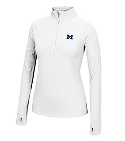 J. America® NCAA® Michigan Wolverines Women's Sprint Long Sleeve Half Zip Pullover