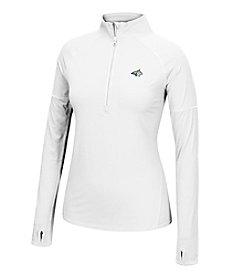 J. America® NCAA® Montana State Bobcats Women's Sprint Long Sleeve Half Zip Pullover