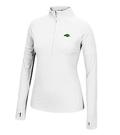 J. America® NCAA® North Dakota State Bison Women's Sprint Long Sleeve Half Zip Pullover