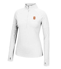 J. America® NCAA® Syracuse Orange Women's Sprint Long Sleeve Half Zip Pullover