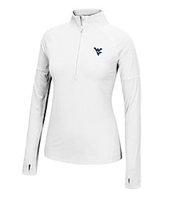 J. America® NCAA® West Virginia Mountaineers Women's Sprint Half Zip Pullover